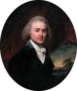 John Quincy Adams, by John Singleton Copley