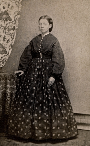 An Albumen Carte De Visite Of Sallie Brown Circa 1865 As Well Providing A Possible Glimpse Her Mother Sports Fashions Worn By Trendy Teens